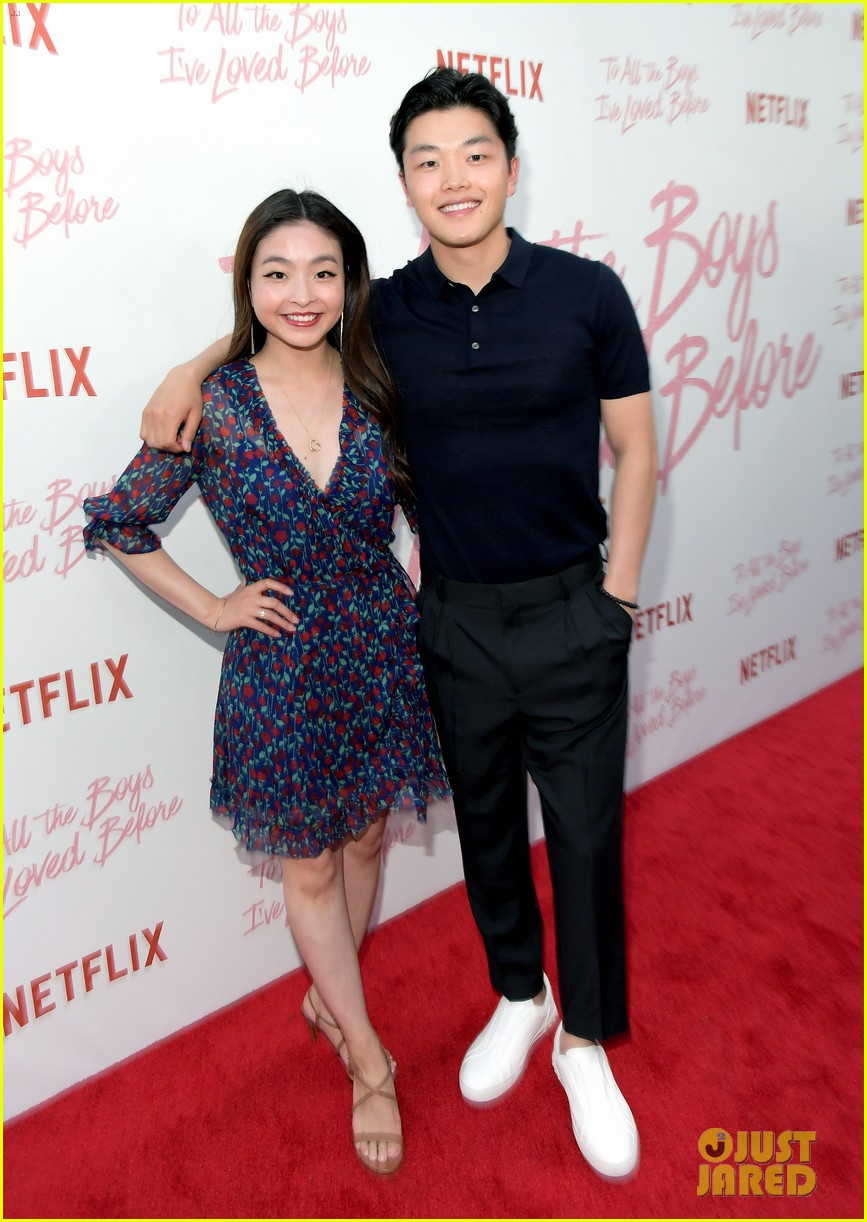 I All The Girls: Netflix's 'To All The Boys I've Loved Before' Cast Attends