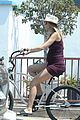 josh brolin goes shirtless for bike ride with pregnant wife kathryn boyd 29