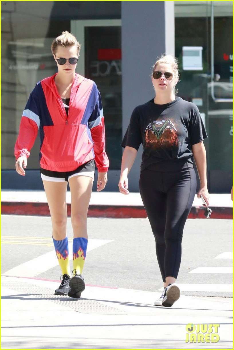 Cara Delevingne & Ashley Benson Hit the Spa in WeHo: Photo ...