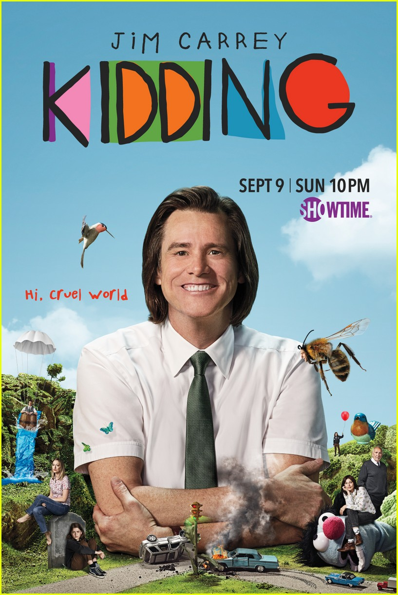 jim carreys comedy series kidding gets trailer and posters 014125390
