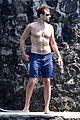 bradley cooper irina shayk shirtless bikini beach pda 13