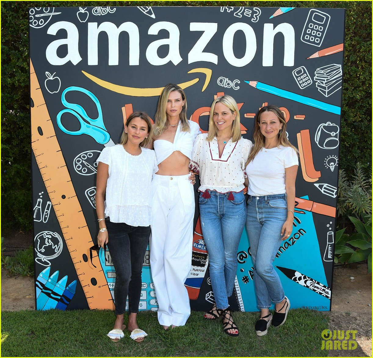 jenna dewan sara foster co host amazon event 194130884