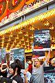 edie falco protests mcdonalds 08