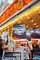 edie falco protests mcdonalds 11
