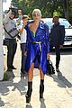 lady gaga rocks metallic look for busy day in paris 05