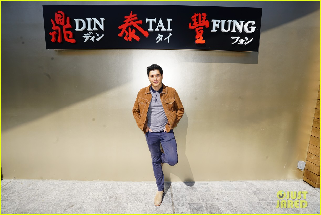 henry golding makes dumplings with just jared 264129247