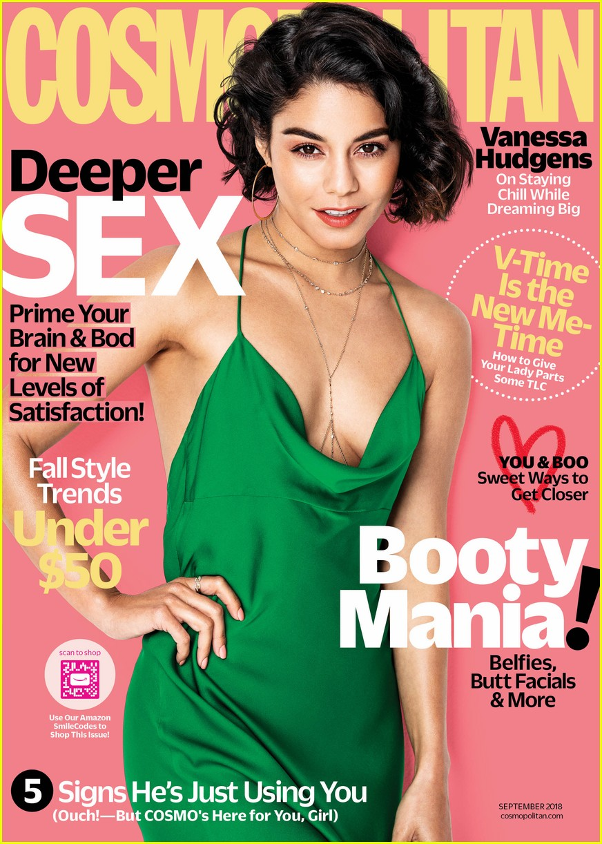 images Vanessa hudgens and nina dobrev cover of cosmopolitan 8 4 2019