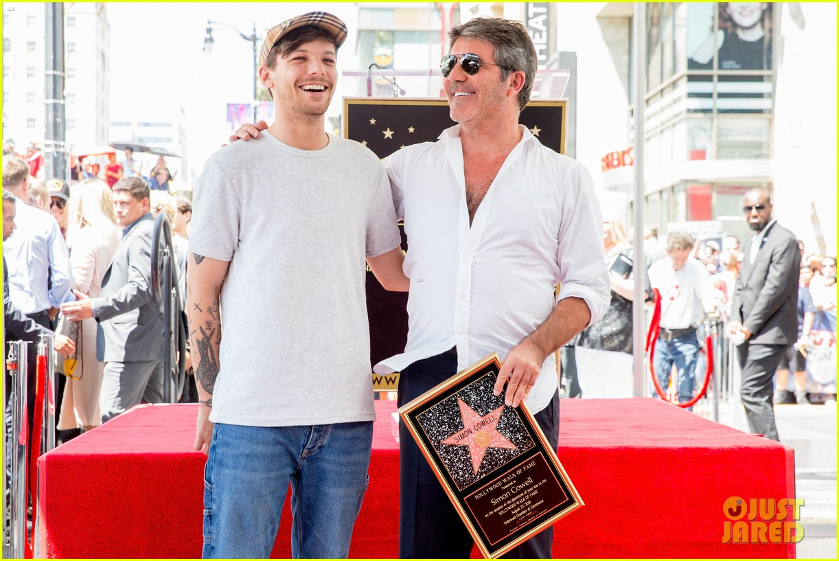 simon cowell american idol alums at hollywood walk of fame ceremony 044133347
