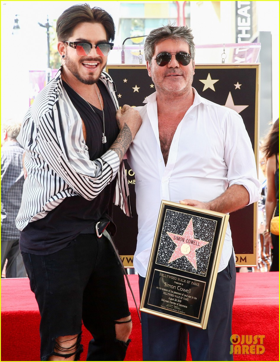 simon cowell american idol alums at hollywood walk of fame ceremony 054133348