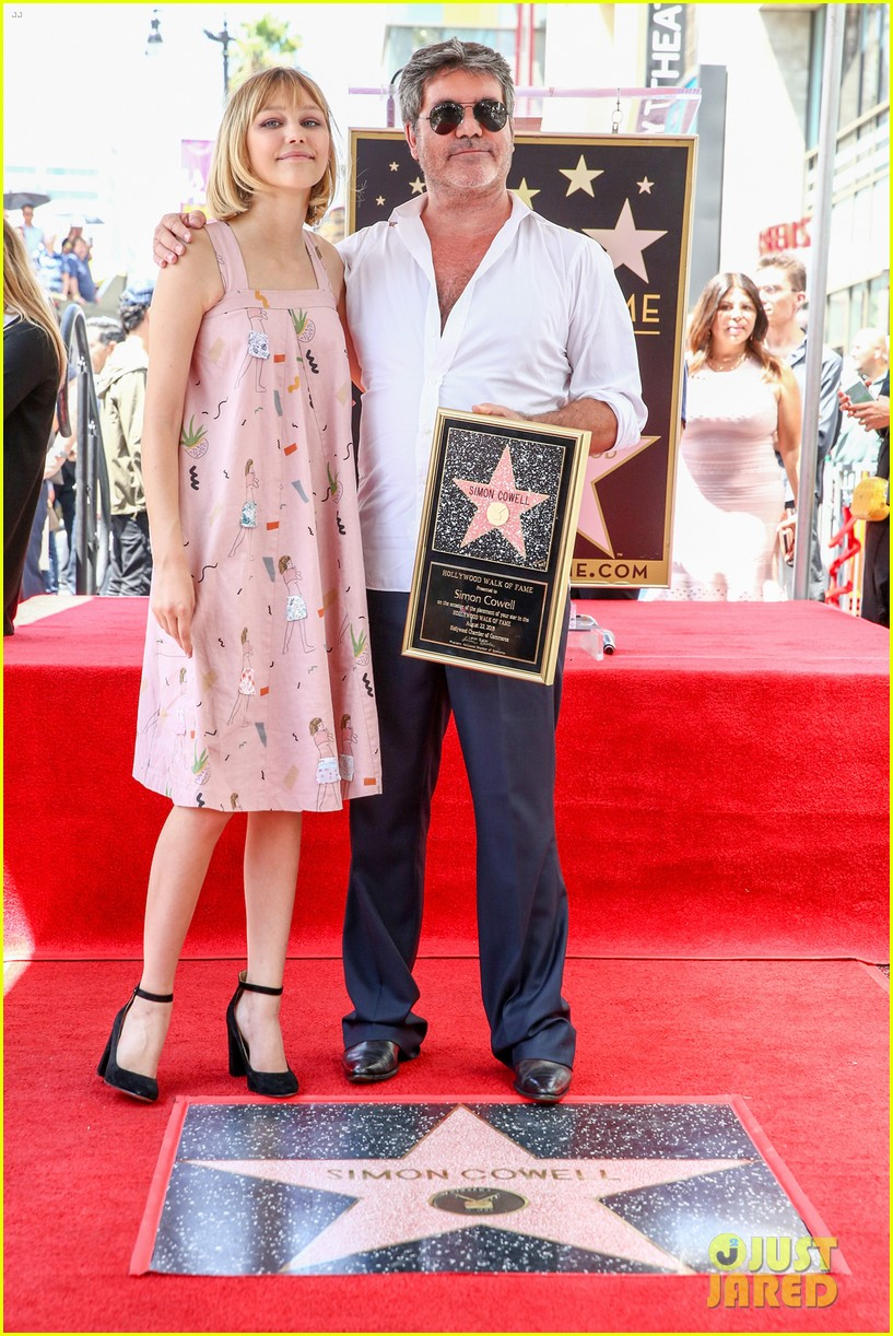 simon cowell american idol alums at hollywood walk of fame ceremony 064133349