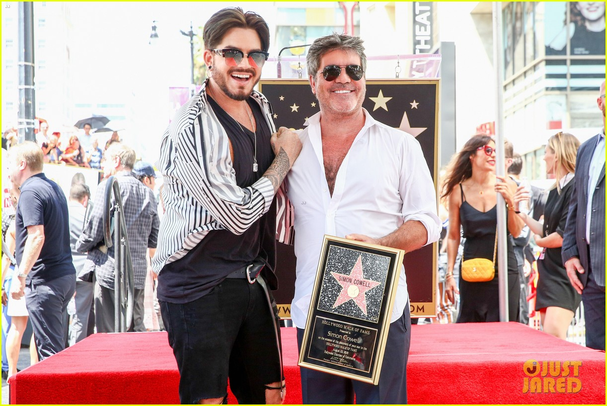 simon cowell american idol alums at hollywood walk of fame ceremony 094133352