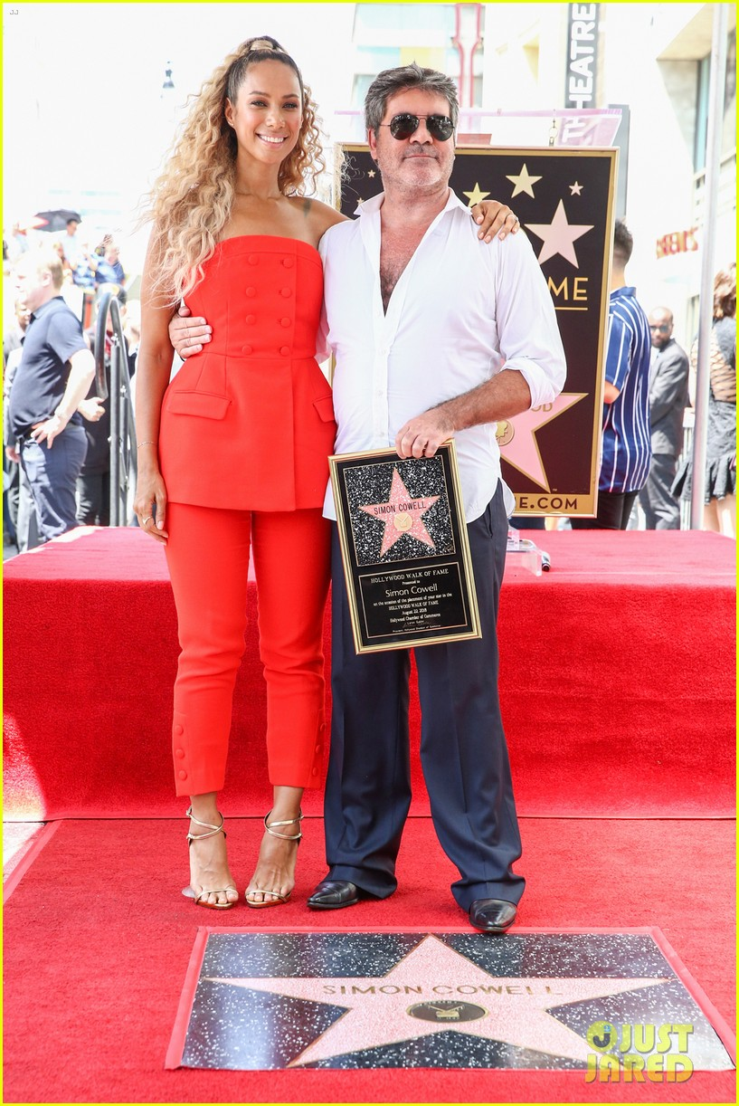 simon cowell american idol alums at hollywood walk of fame ceremony 104133353