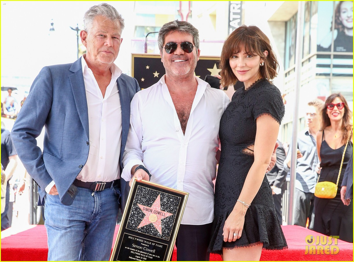 simon cowell american idol alums at hollywood walk of fame ceremony 144133357
