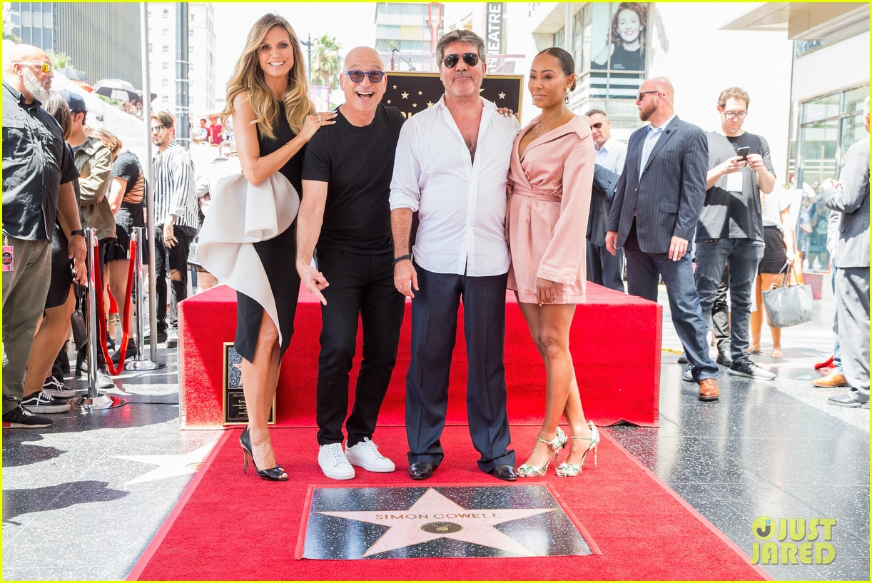 simon cowell american idol alums at hollywood walk of fame ceremony 154133358