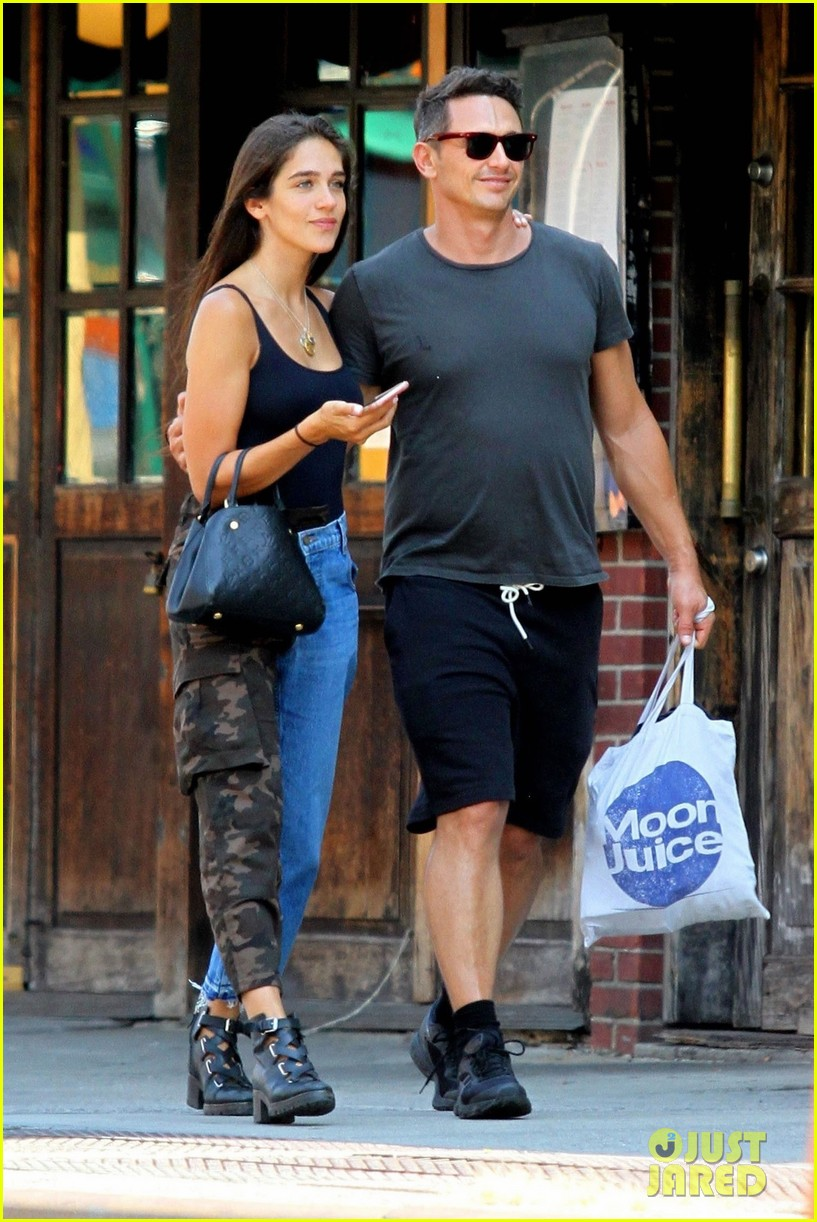 3db075b7a807 James Franco   Girlfriend Isabel Pakzad Show Some PDA During NYC Stroll