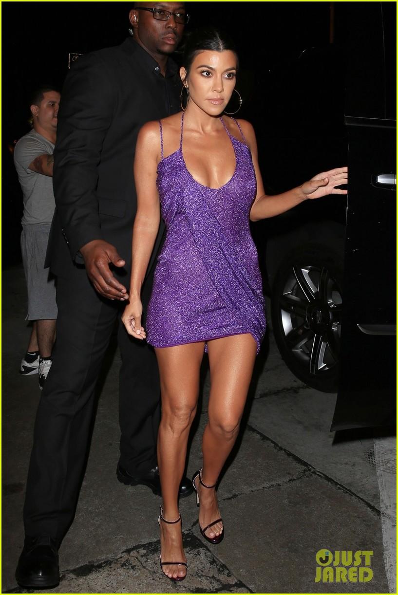 kim kourtney khloe kardashian arrive at kylie jenner 21 birthday party 014127176