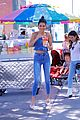 kendall jenner looks super cute in denim on denim in la 09