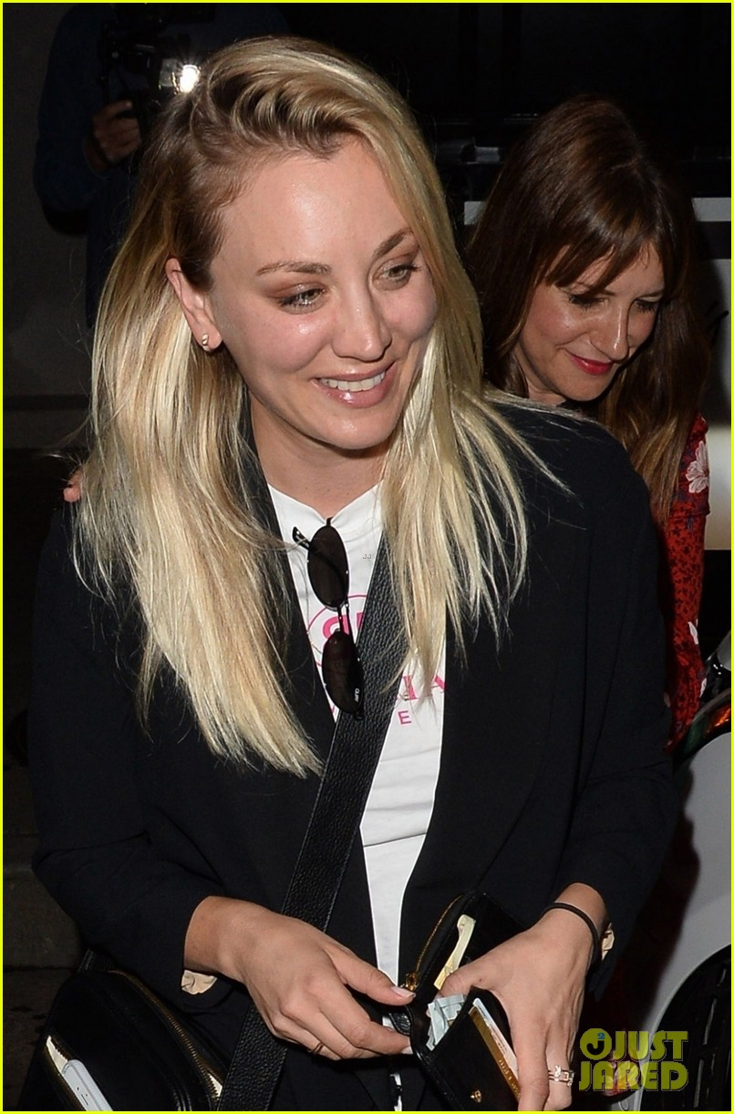 kaley cuoco steps out for brad goreski birthday in weho 01
