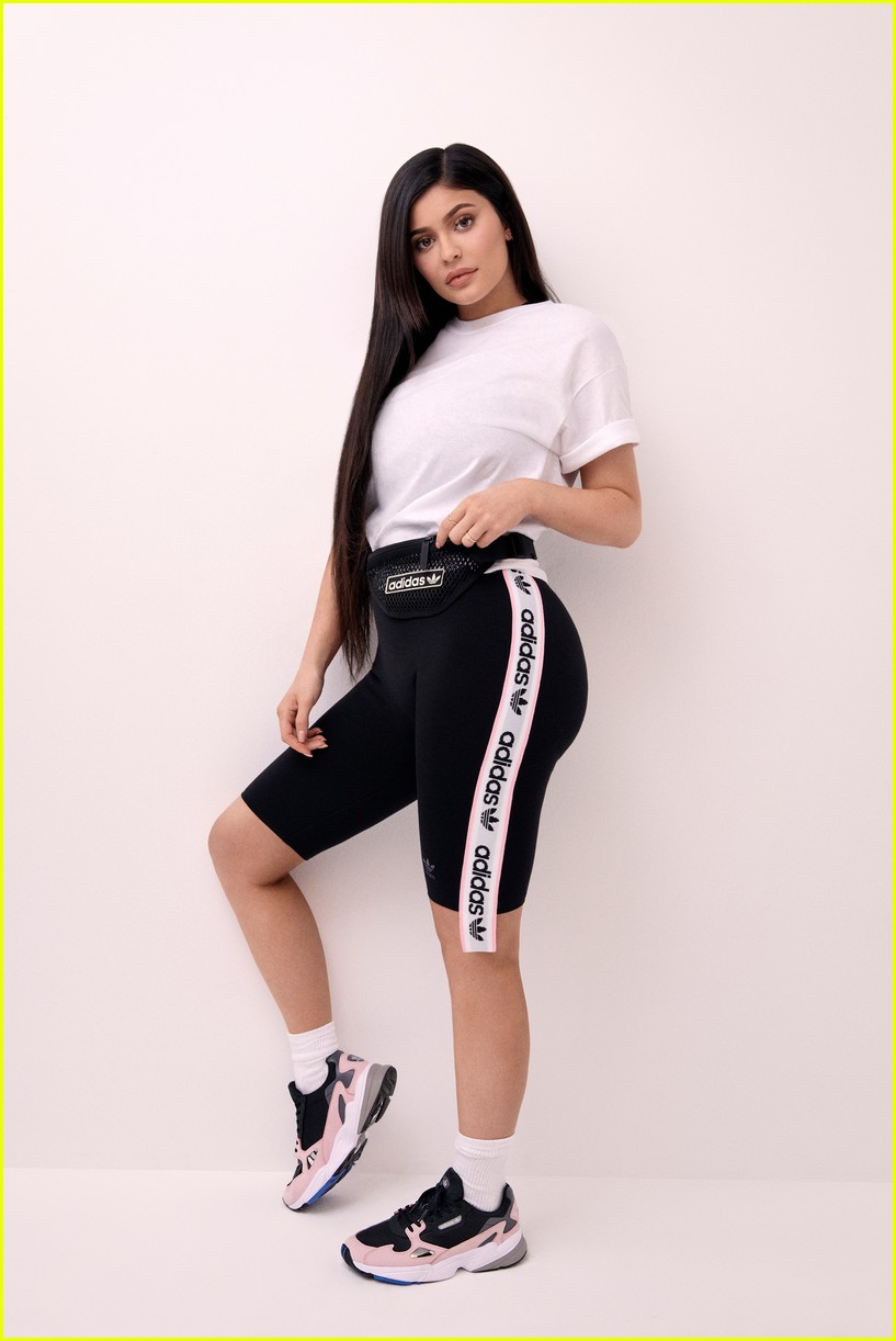 The Kylie Jenner x Adidas Originals Campaign Is Here & It's
