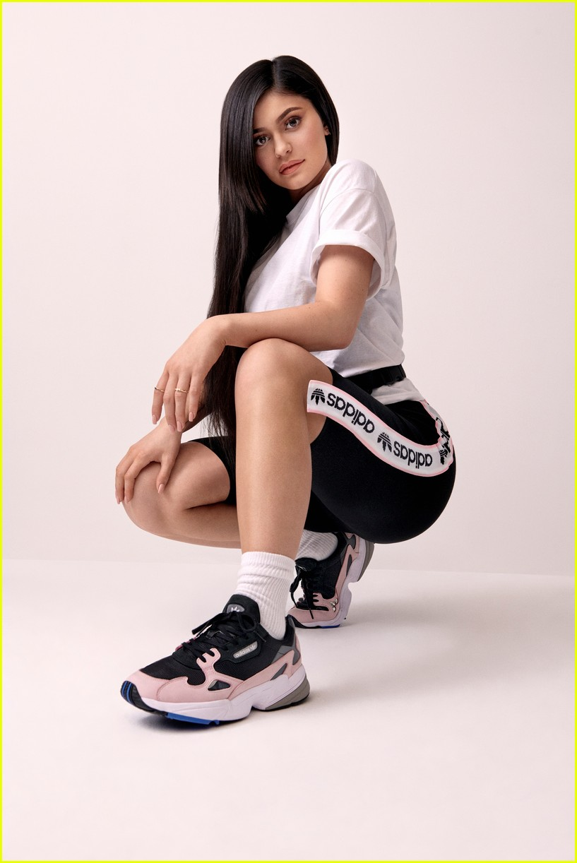 6c09f15644f Kylie Jenner Gets Sporty in New 'Adidas' Falcon Campaign: Photo ...
