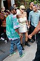 kylie jenner gives travis scott a kiss goodbye in nyc 25