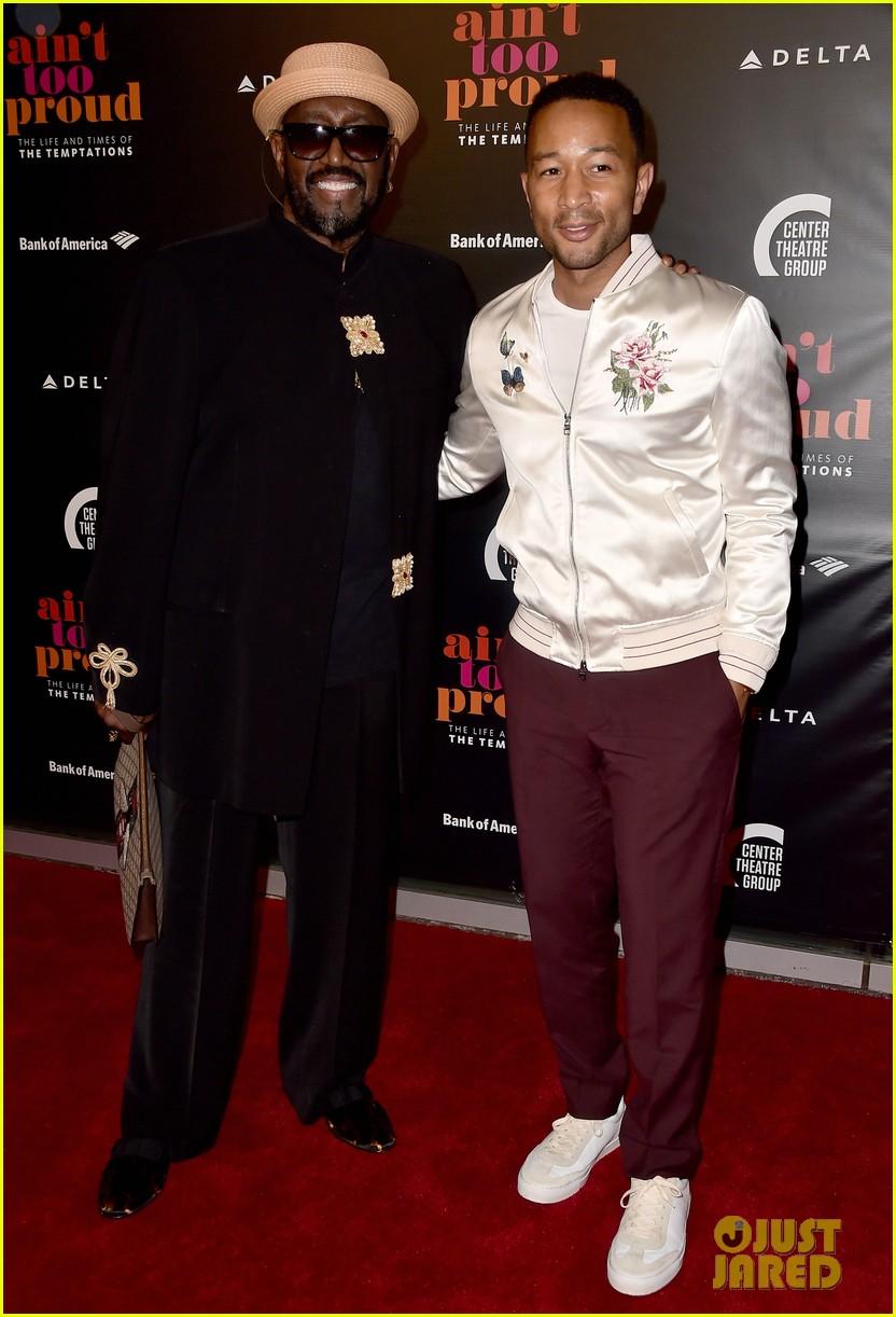 John Legend Joins the Temptations' Otis Williams at 'Ain't
