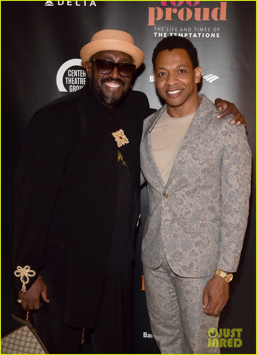 John Legend Joins the Temptations' Otis Williams at 'Ain't Too Proud