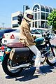 william h macy goes for motorcycle ride in la 05