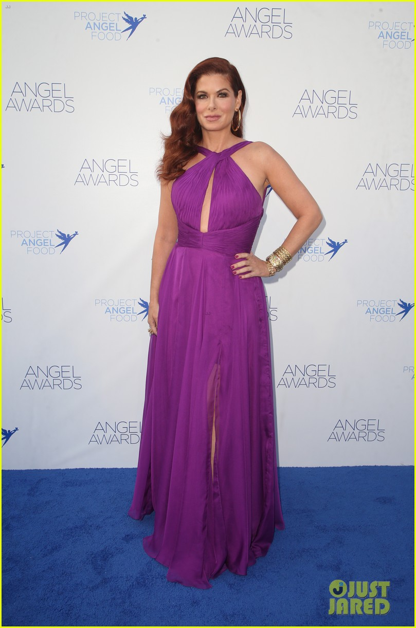 debra messing is joined by son roman at angel awards 054130814