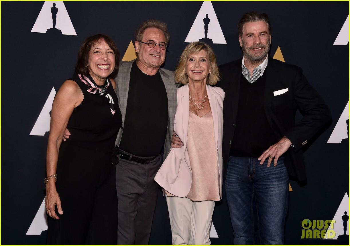Olivia Newton John & John Travolta Reunite for 'Grease' 40th