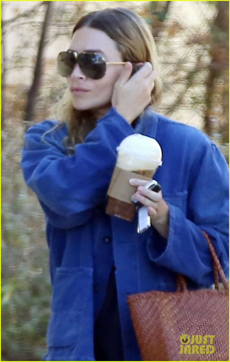 ashley olsen steps out for coffee in brentwood 024136240