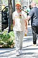 patrick schwarzenegger steps out for solo lunch at sugarfish 09