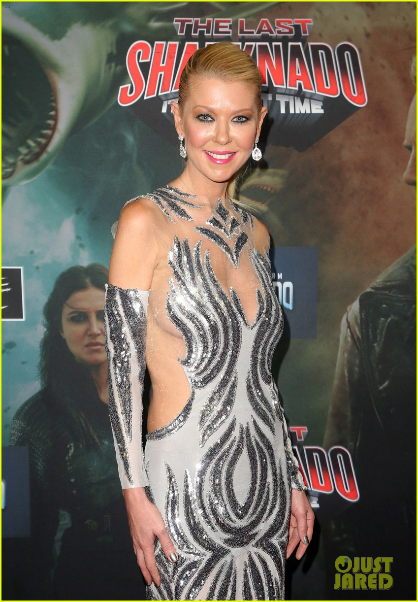 tara reid ian ziering hit red carpet for the last sharknado its about time premiere 114131145