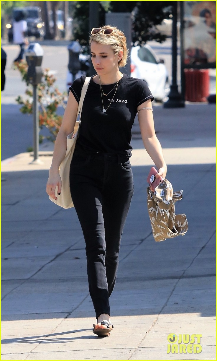 emma roberts west hollywood lunch 014134505