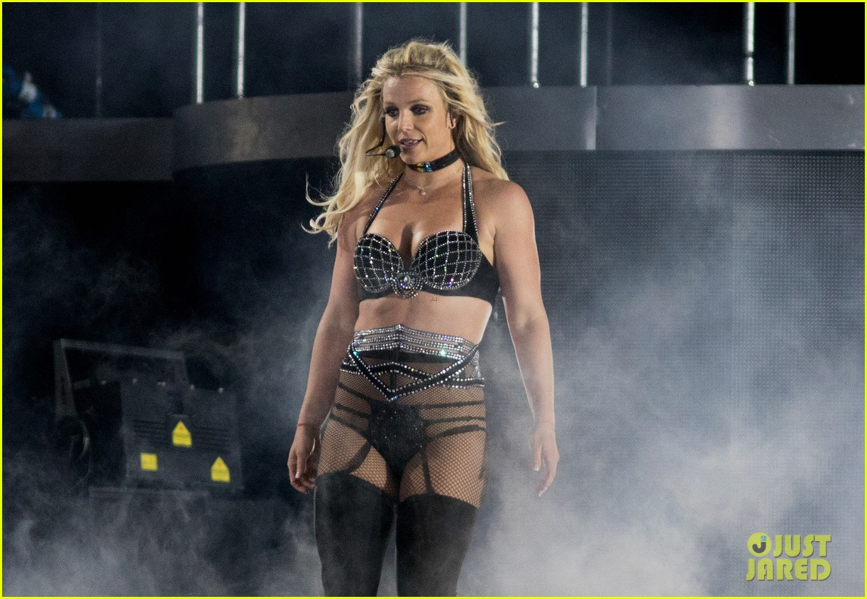Britney Spears Slays The Stage At Brighton Pride In England