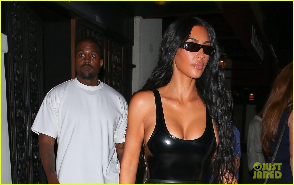 kim kardashian kanye west dinner date 014126025