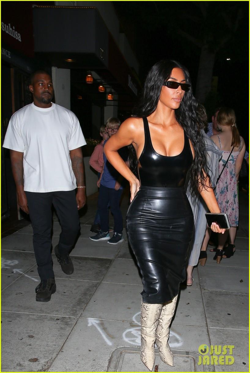 kim kardashian kanye west dinner date 034126027