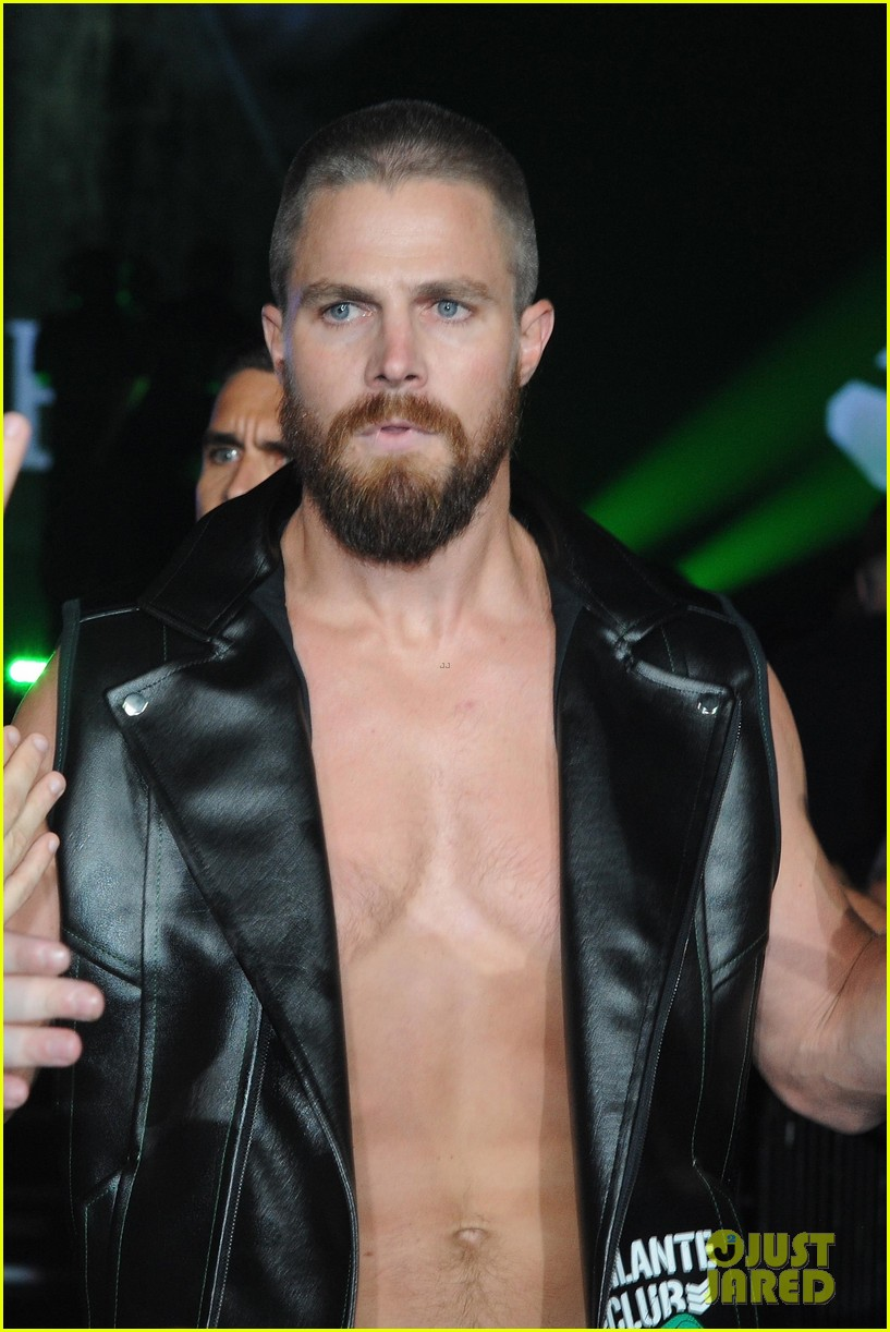 Watch Stephen Amell video