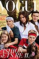 victoria beckham covers british vogue with her four kids 03