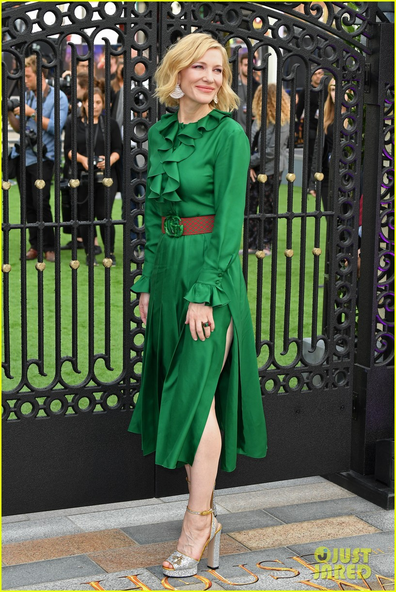 Cate Blanchett Looks So Chic At House With The Clock In