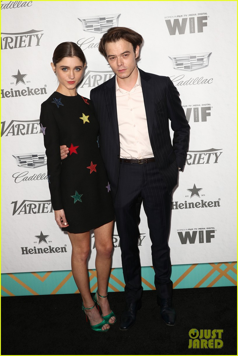 natalia dyer charlie heaton variety women in film pre emmy party 03