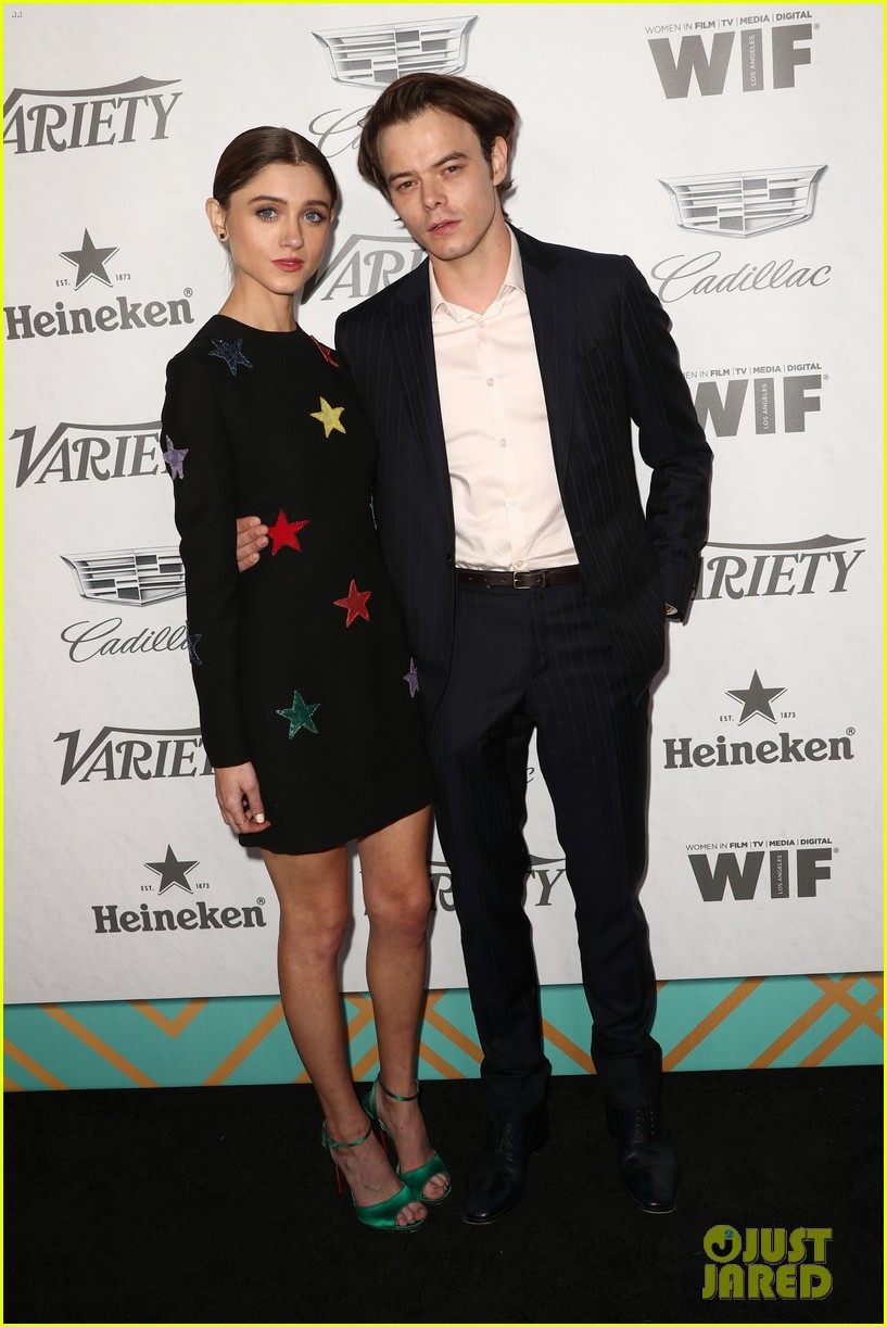 natalia dyer charlie heaton variety women in film pre emmy party 12