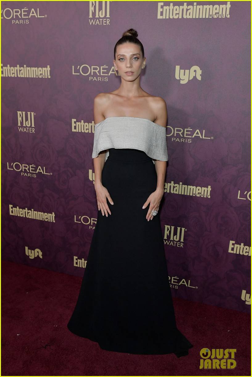 sarah paulson sterling k bronw ew party emmys 044147346