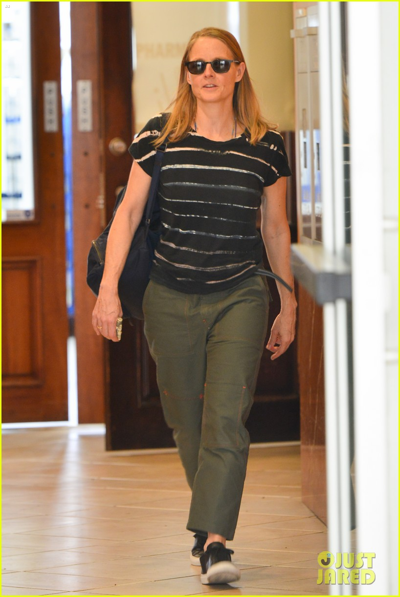 jodie foster steps out for business meeting in beverly hills 054150788