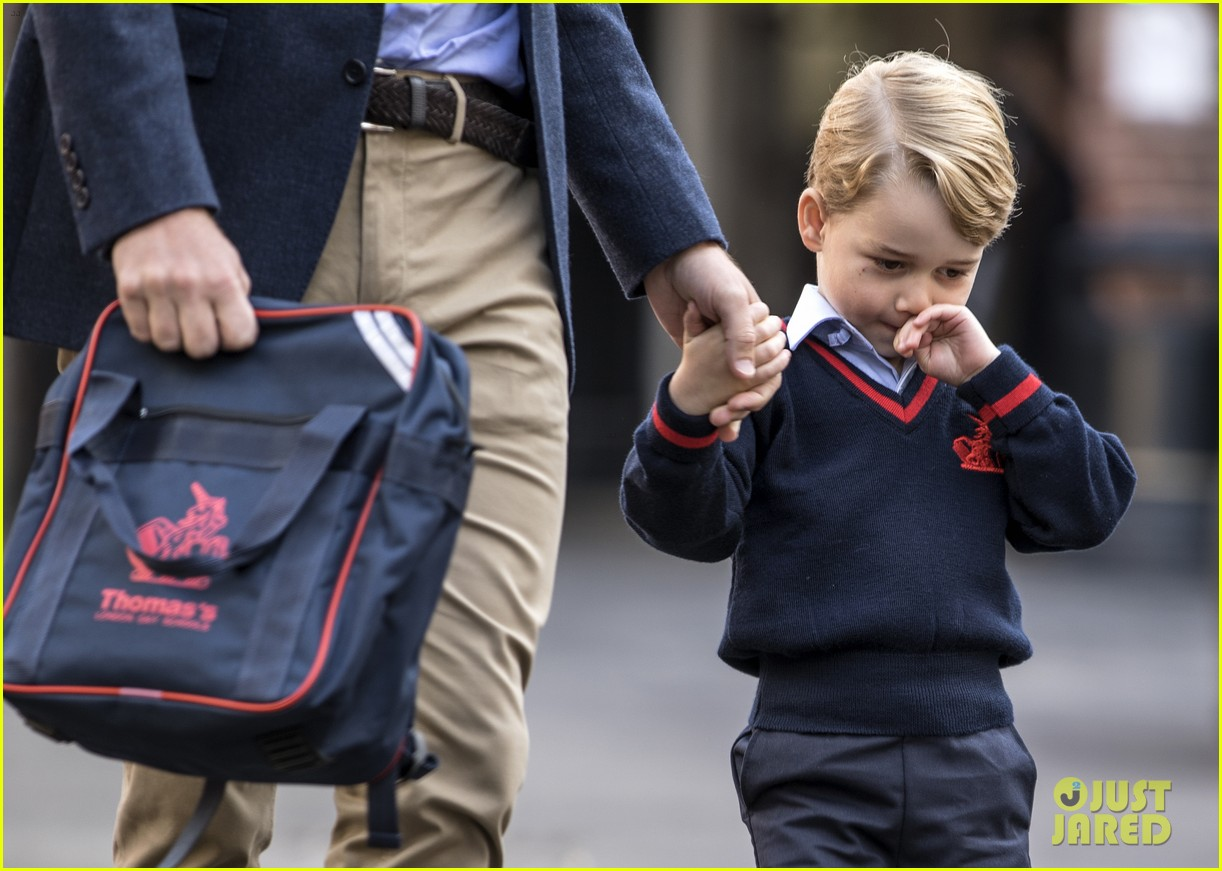 prince george princess charlotte no school photos 054139577