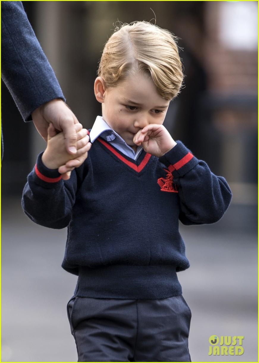 prince george princess charlotte no school photos 074139579