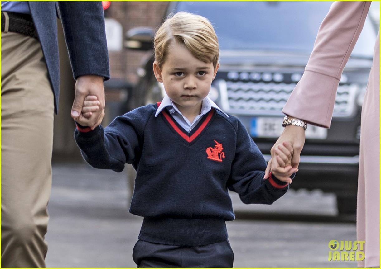 prince george princess charlotte no school photos 104139582