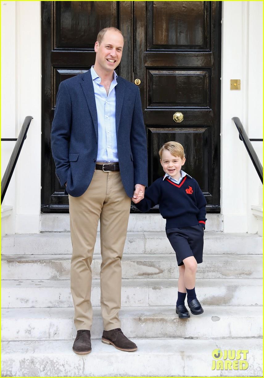 prince george princess charlotte no school photos 124139584