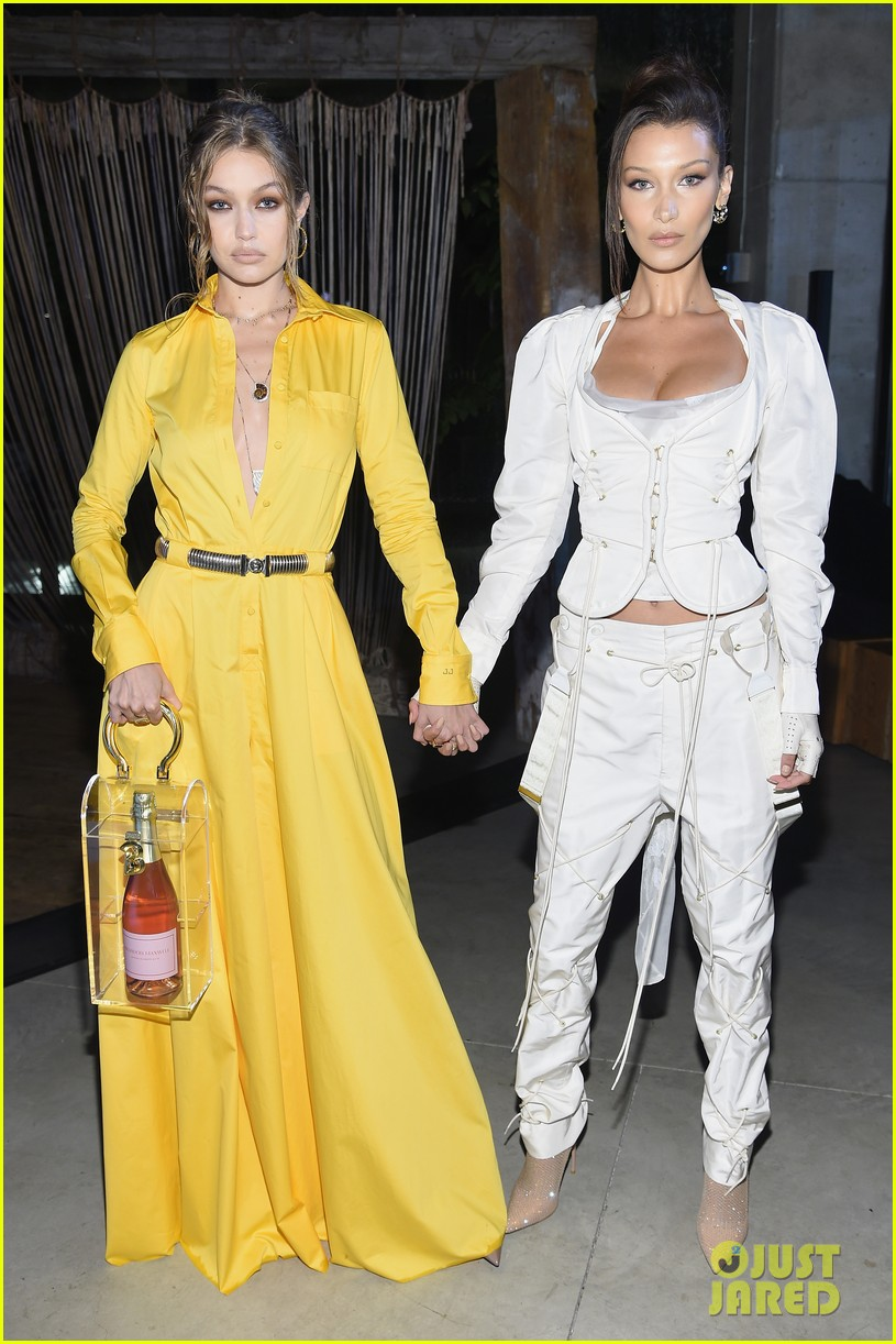 Gigi hadid and bella hadid at business of fashion celebrates the bof500 2019