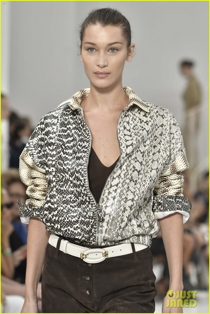 gigi and bella hadid strut their stuff in tods milan fashion week show2 144151316